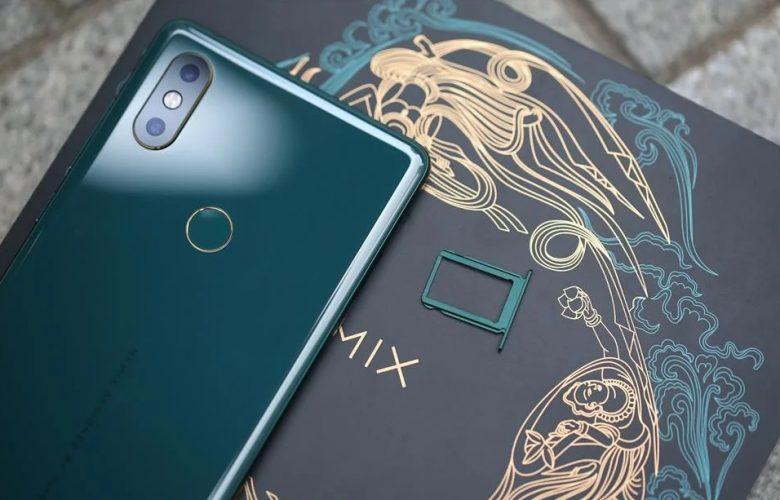 Xiaomi Mi MIX 2S Emerald Jade destacada