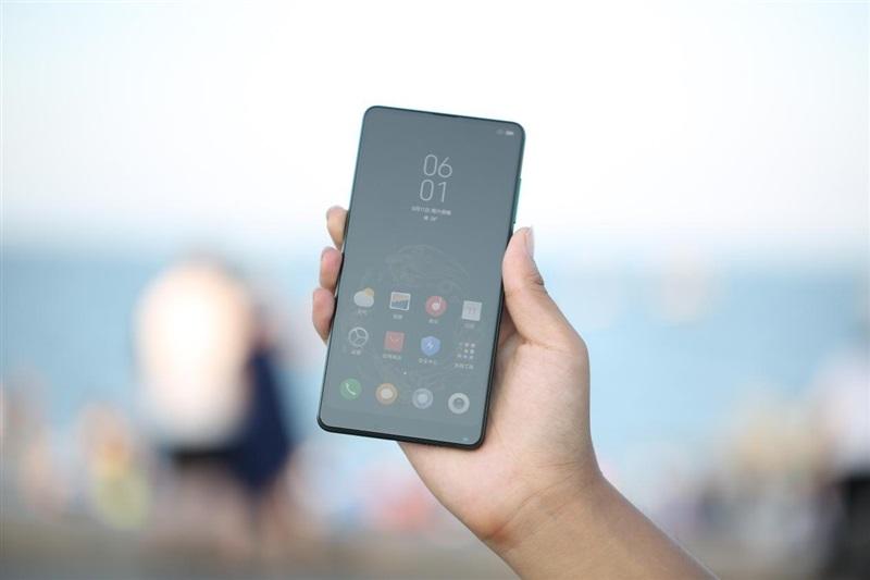 Xiaomi Mi MIX 2S Emerald Jade diseño 2