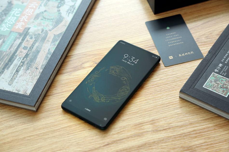 Xiaomi Mi MIX 2S Emerald Jade introducción