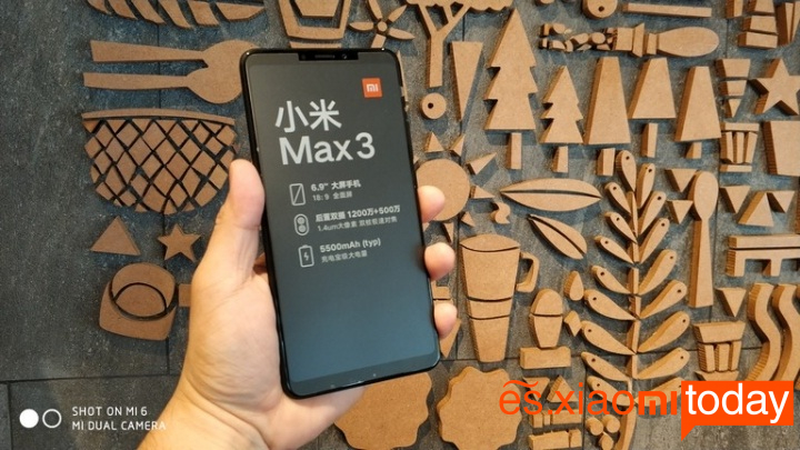 Black Friday oferta: Xiaomi Mi Max 3