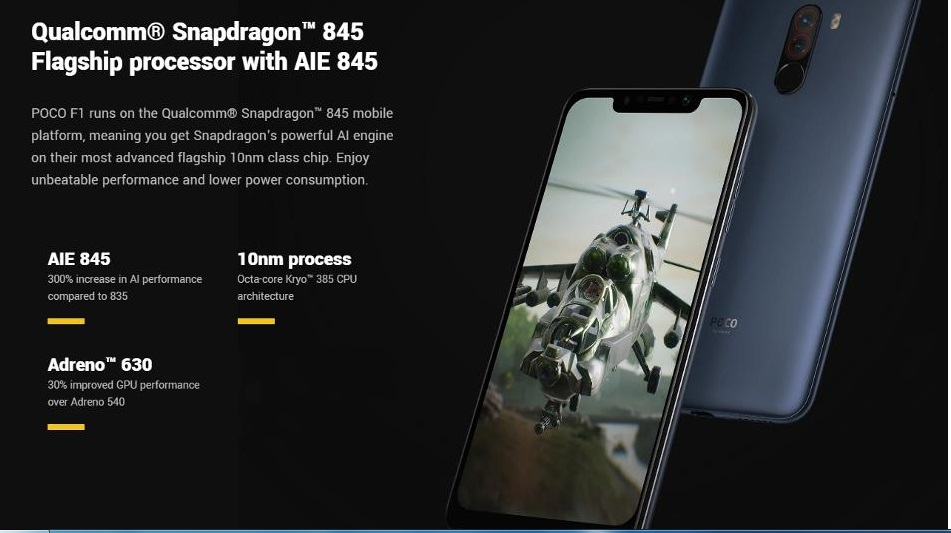 Xiaomi POCO F1Hardware
