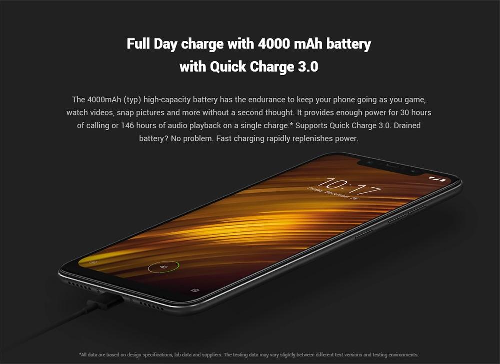 Xiaomi POCO F1batería