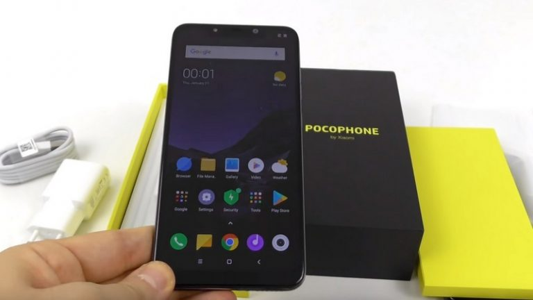 The Xiaomi Poco F1 features Quick Charge 4.0
