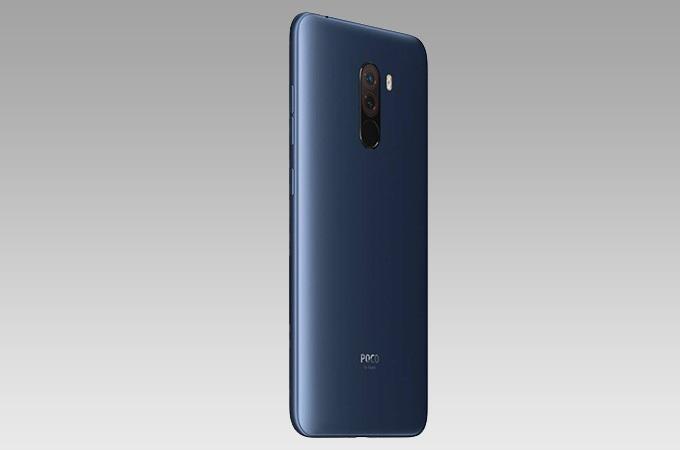 Xiaomi POCO F1laterales