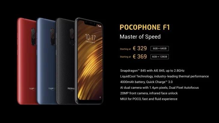 XiaomiPOCOPHONE F1 introducción
