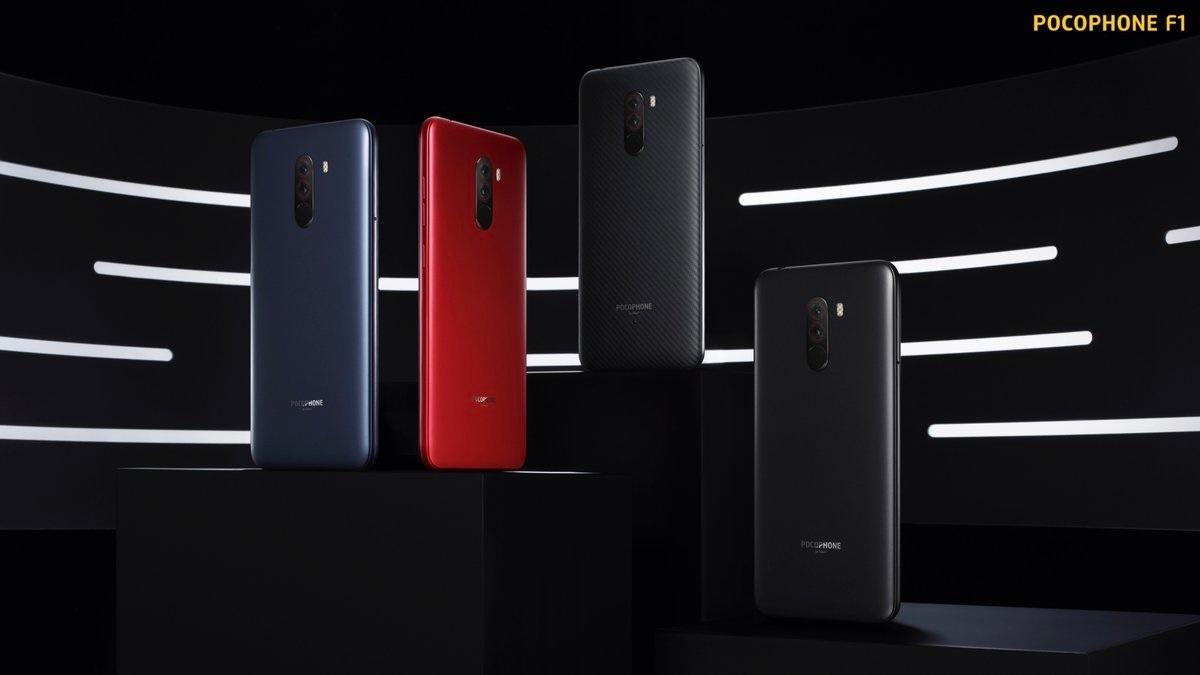 XiaomiPOCOPHONE F1 llega a Europa