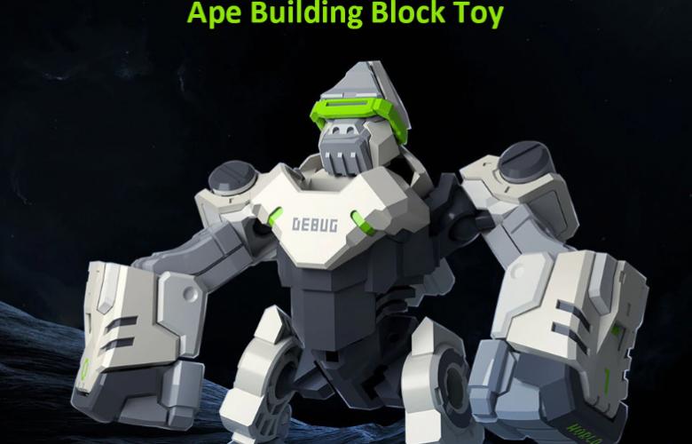 Xiaomi Youpin Folding Changeable Programming Ape Toy