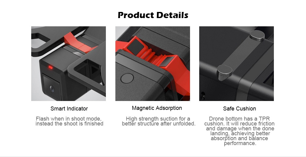 Xiaomi Youpin Idol Drone detalles