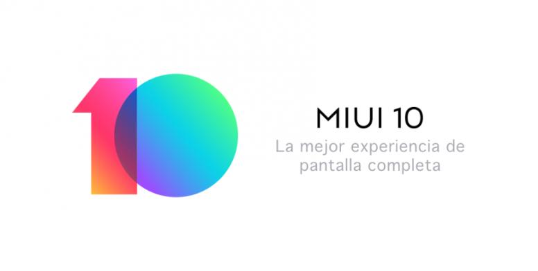 MIUI 10 - Presentación