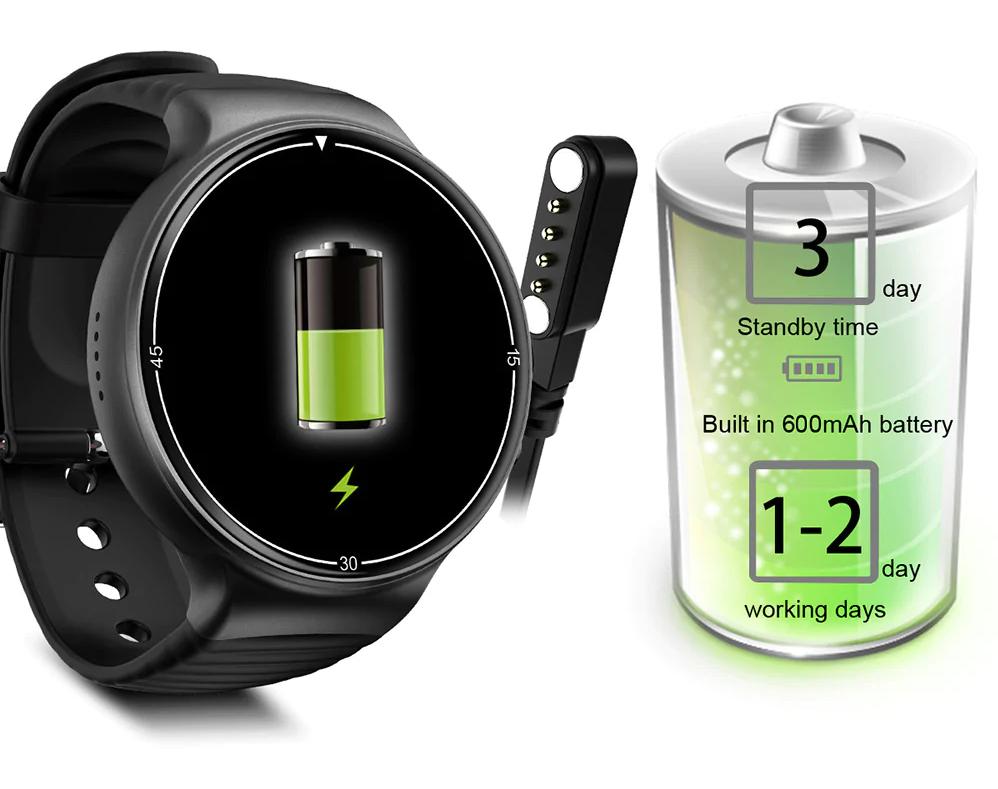 IQI I8 4G Smartwatch Phone: Batería