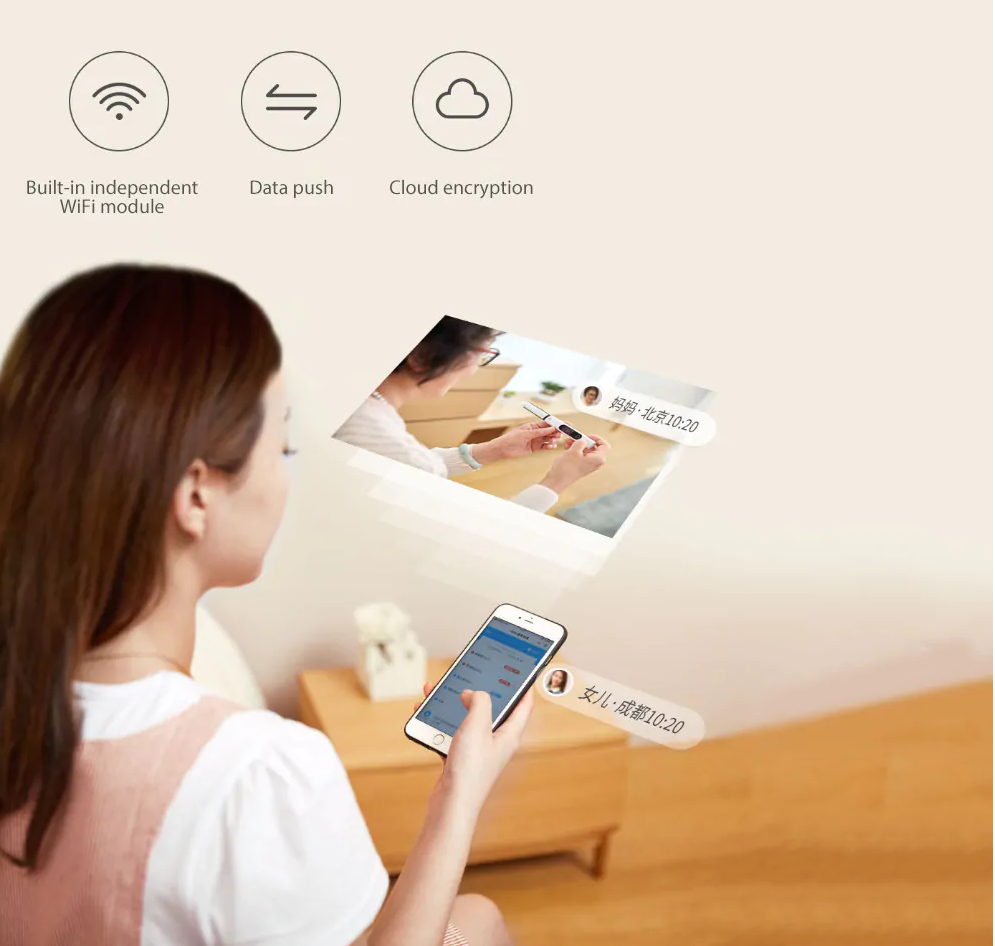 Xiaomi HipeeSmart health test stick: Conectividades/WIFi