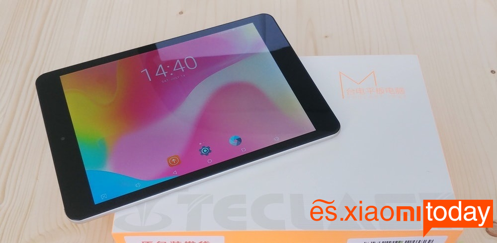 Teclast m89 Análisis: Unboxing