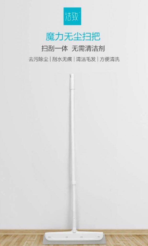 presentación de la nueva escoba de Xiaomi