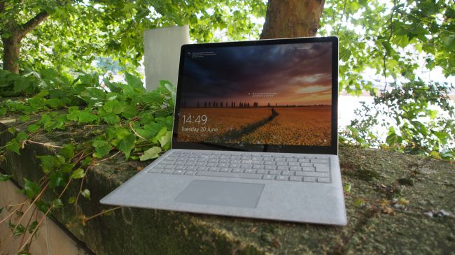 Microsoft Surface Laptop - pantalla
