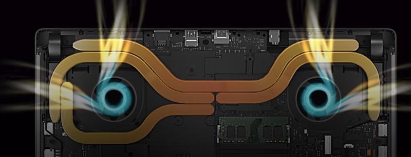 Xiaomi Gaming Laptop Análisis: disipación del calor