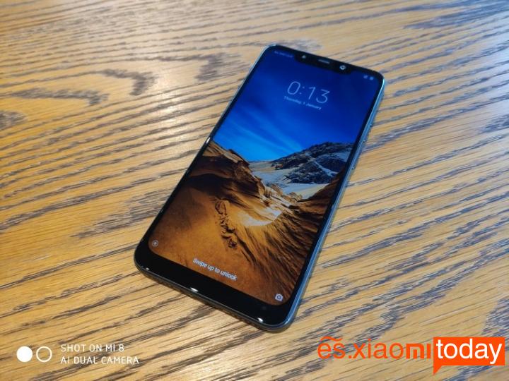 Xiaomi Pocophone F1 análisis - Pantalla