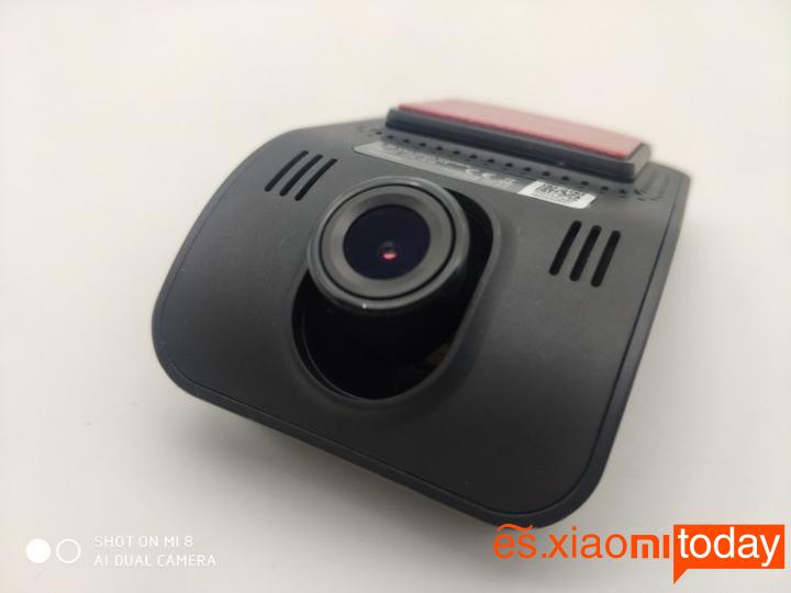 Xiaomi YI mini Dash Camera Análisis: Diseño