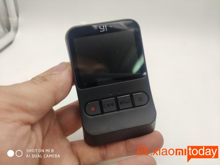 Xiaomi YI mini Dash Camera Análisis: Pantalla LCD
