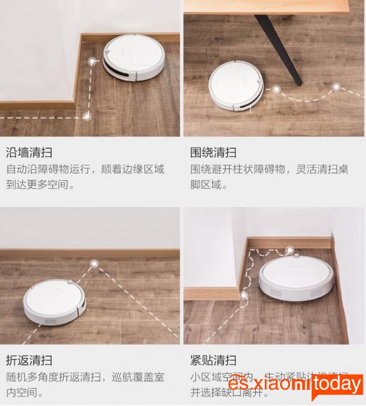 Xiaomi Xiaowa C1 Análisis: Modos de limpieza