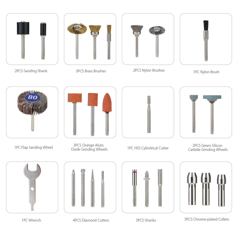 accesorios para herramientas rotativas