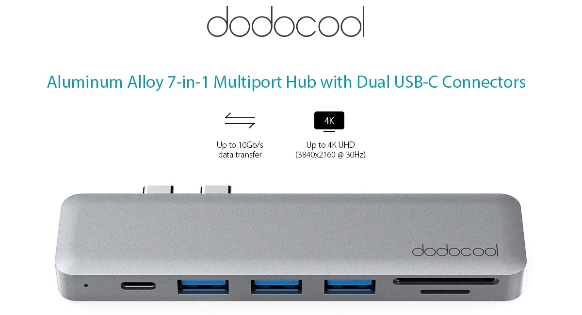 Dodocool 7-in-1 USB-C Hub - Oferta en Amazon