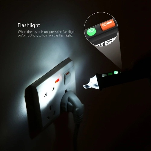Meterk Non-contact AC Voltage Tester Pen - Oferta Amazon