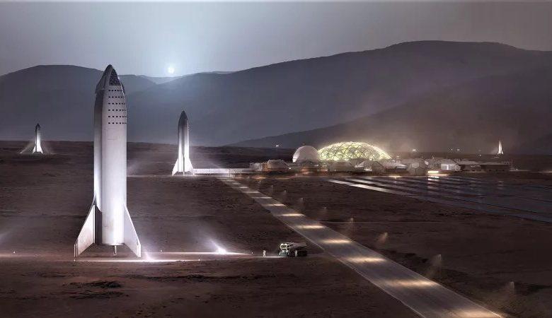 Elon Musk Mars Base Alpha