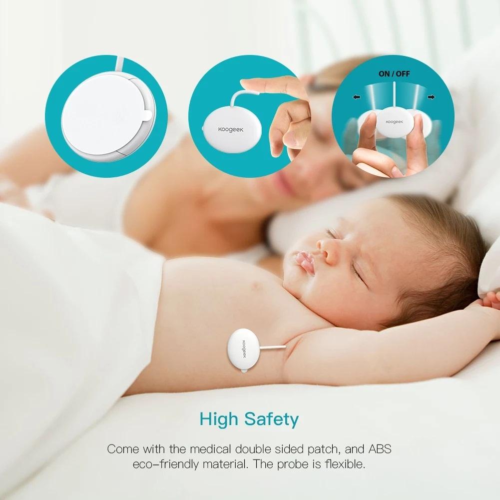Medidor de temperatura para bebés de Koogeek - Oferta Amazon