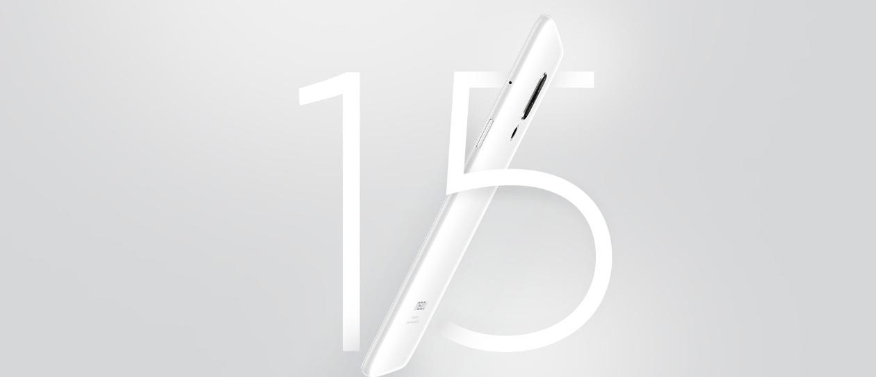 MEIZU 15 - Buque insignia de aniversario