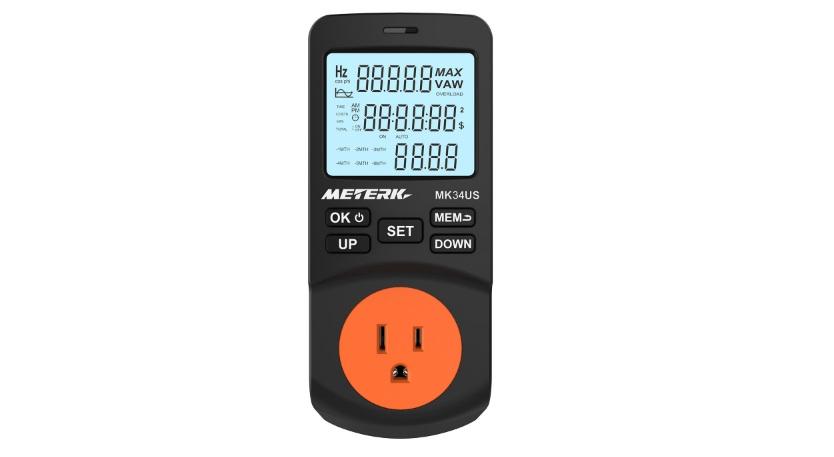 Medidor de potencia de Meterk