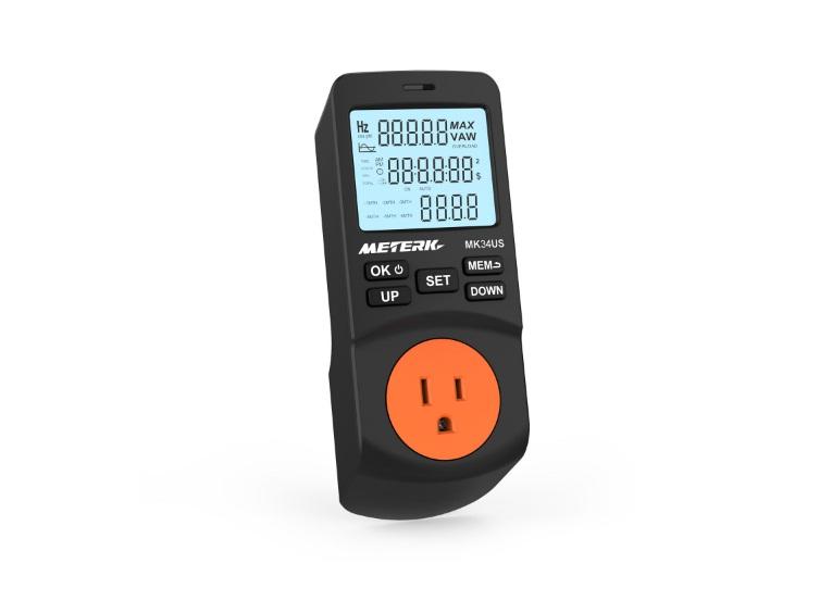 Medidor de potencia de Meterk - Oferta en Amazon