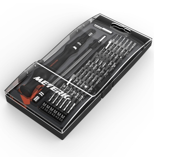Meterk 61 in 1 Magnetic Screwdriver kit Professional - Oferta en Amazon