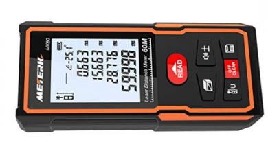 Telémetro Láser Portátil Meterk MK60Telémetro Láser Portátil Meterk MK60