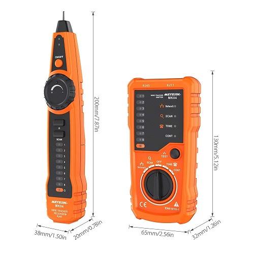 Tester de cable Meterk diseño
