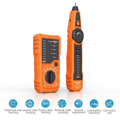 Tester de cable Meterk funcionamiento