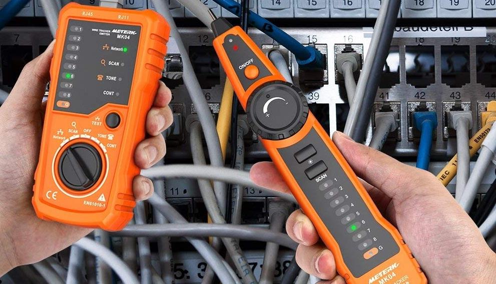 Tester de cable Meterk introducción