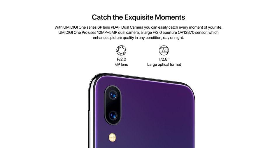 UMIDIGI One Pro cámara