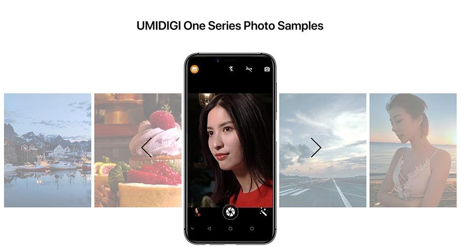 UMIDIGI One Pro fotos