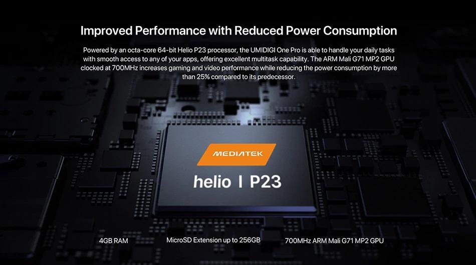 UMIDIGI One Pro hardware