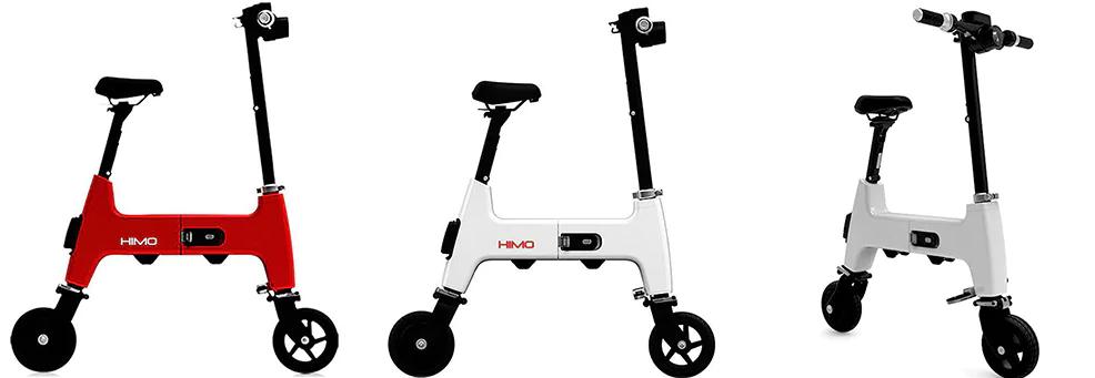 Xiaomi HIMO H1 Smart Folding Electric Bike Modelos