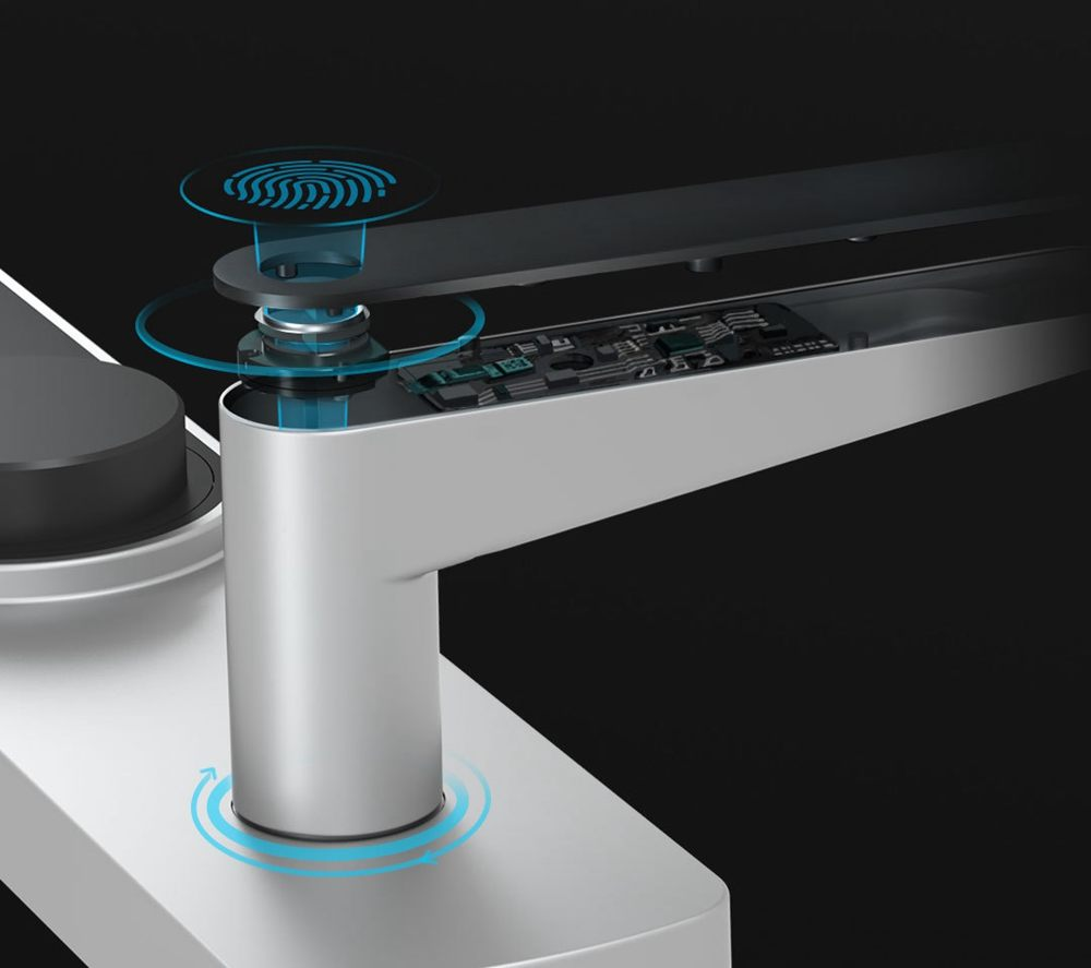 Xiaomi Jushu Smart Security Turntable Lock Tactil