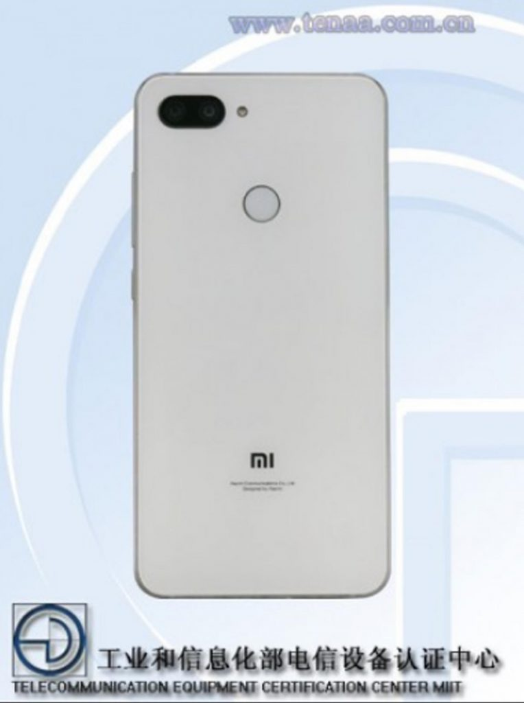 Xiaomi Mi 8 Youth Edition.