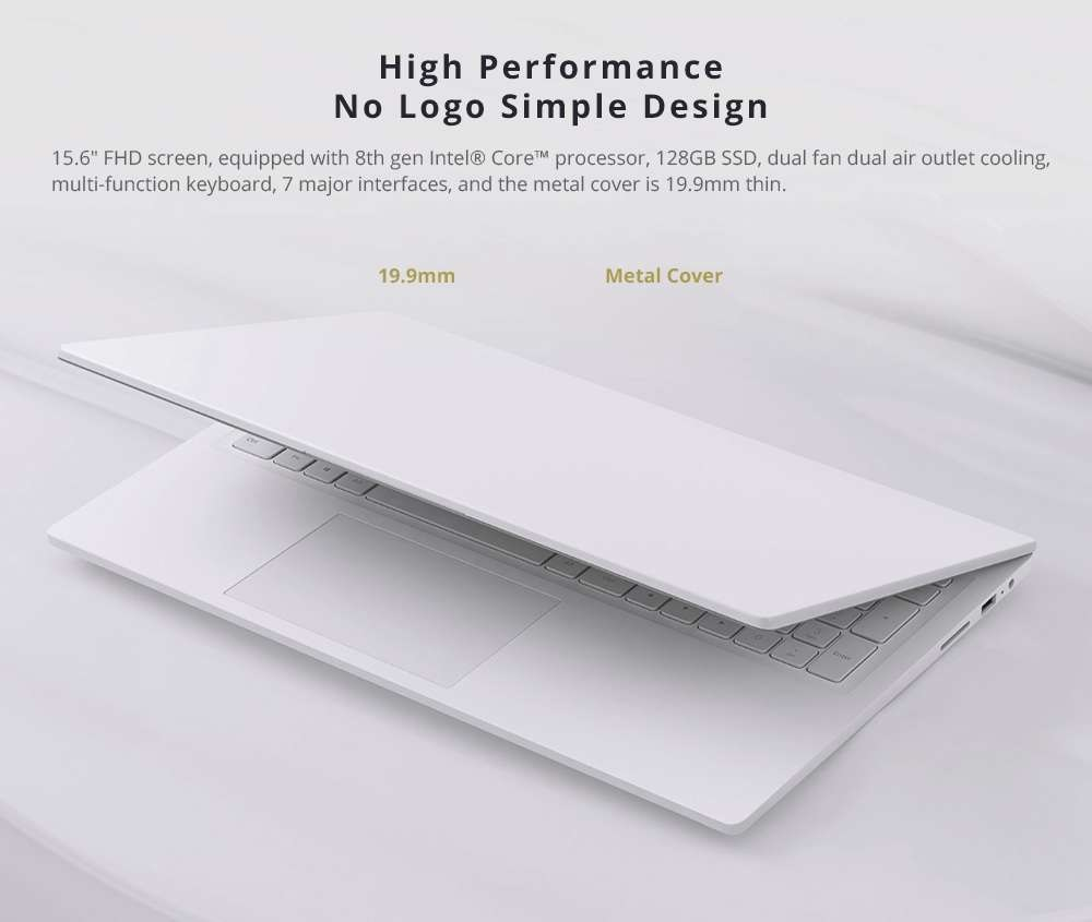 Xiaomi Mi Notebook 15.6 Diseño 1