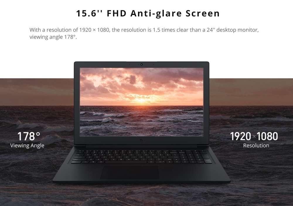 Xiaomi Mi Notebook 15.6 pantalla