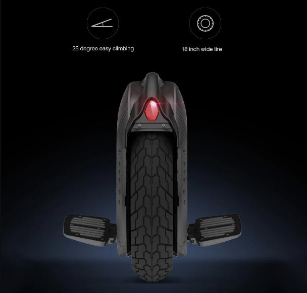 Xiaomi Ninebot One Z10 Diseño