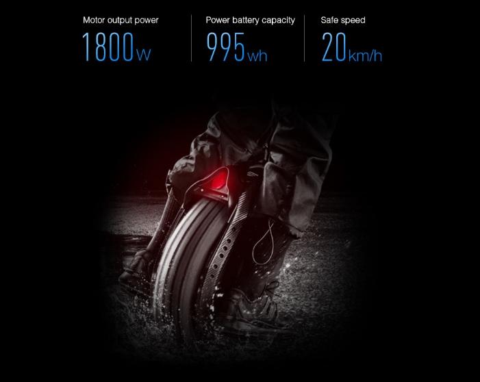Xiaomi Ninebot One Z10 Potencia