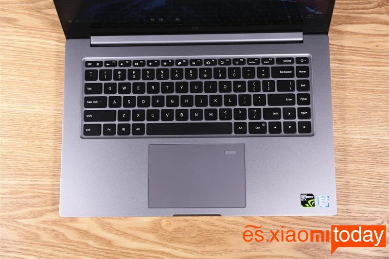 Xiaomi Notebook Pro GTX teclado