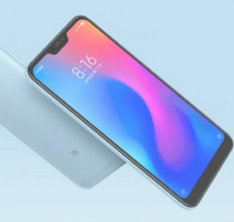 Xiaomi Redmi Note 6 Pro azul