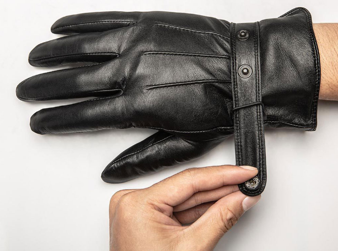 Xiaomi Touch Screen Leather Gloves Cierre