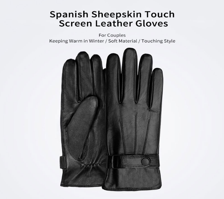 Xiaomi Touch Screen Leather Gloves Destacada